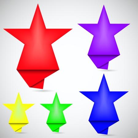 Concept star bubble speech Stock Vector - 12231713