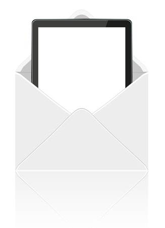 handheld device: computer tablet in mail