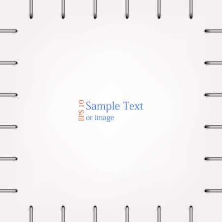 Fond accolade Vecteur transparente avec place pour votre texte ou image Vecteurs