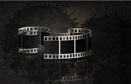 кинематография: Векторный фильма гранж фон. Eps 10