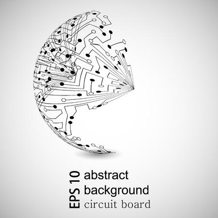 Vector de fondo abstracto. Eps10
