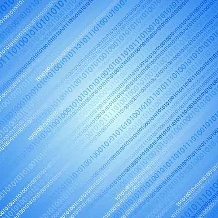 Vector binary abstract background. Eps10 Vector