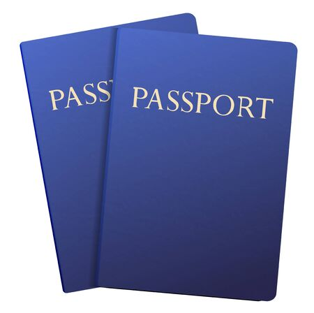 Vector passports isolated on white.  Stock Vector - 12964503