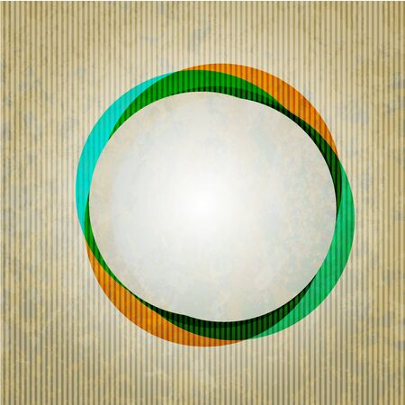 vector circle grunge abstract background. Stock Vector - 13416621