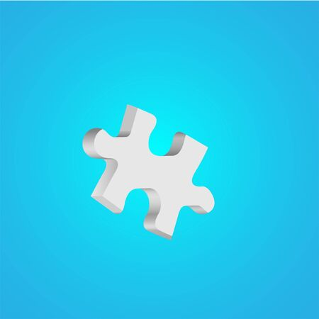Vector puzzle abstract background. Eps10 Vector