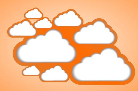 computer cloud design Stock Photo - 13772557
