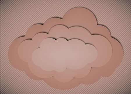 cloud background.  creative illustration Vector