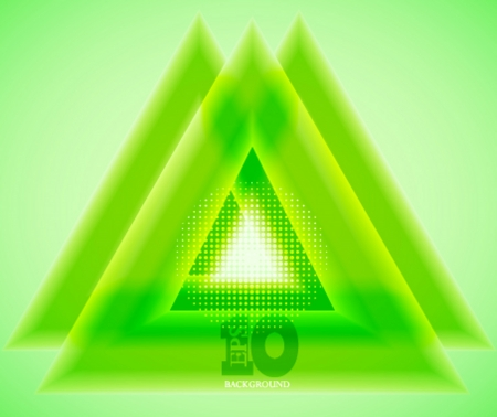 Vector green abstract background. Eps 10 Stock Vector - 14073637