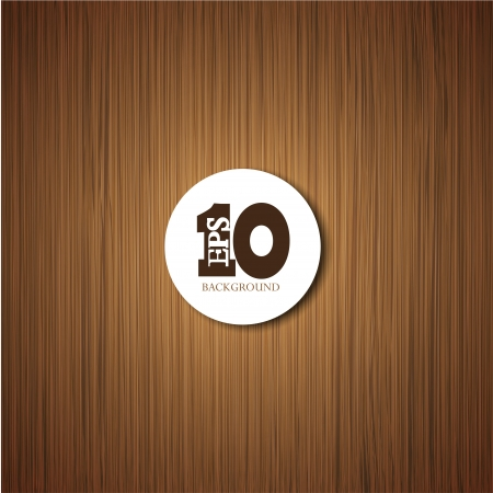 houten achtergrond met plaats voor uw tekst. Stock Illustratie