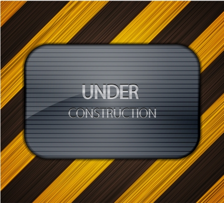 under construction background.  Stock Vector - 14233727