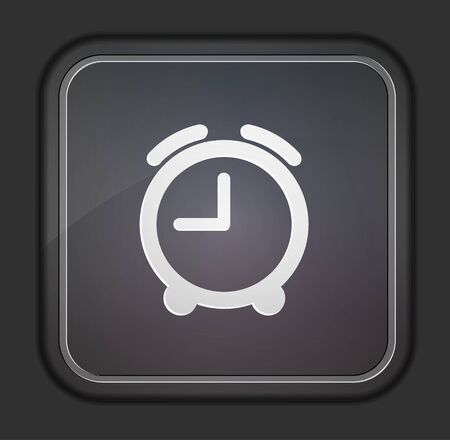 Vector version. Clock icon. Stock Vector - 14254152