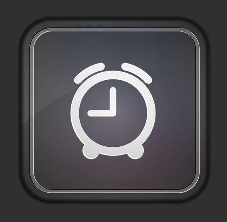 clock icon: Vector version. Clock icon.