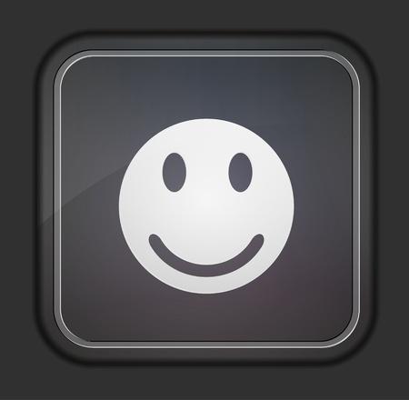 Vector version. Face icon. Vector