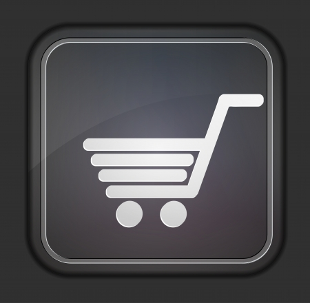 Vector version. Shopping icon.  Vector
