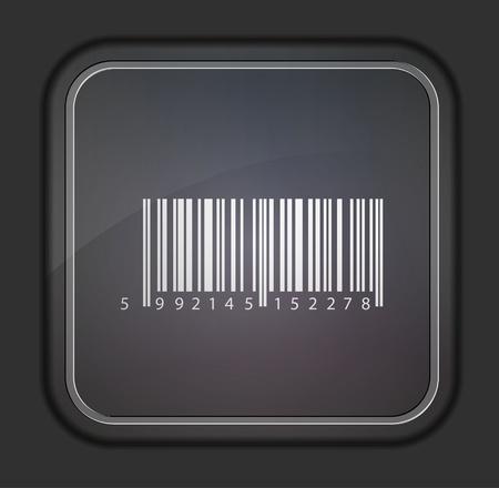 Vector version. Bar code icon. Stock Vector - 14254140