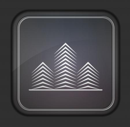 Vector version. Real estate icon. Stock Vector - 14254160