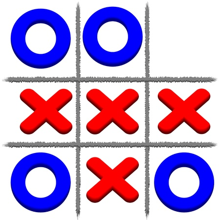 toe:  Tic Tac Toe background.