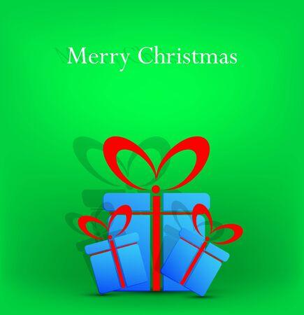 creative Christmas background. Vector