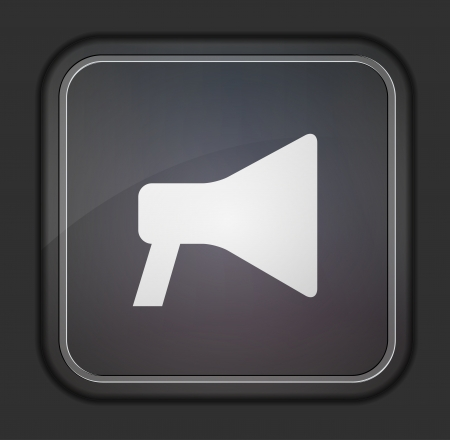 announcement icon: loudspeaker icon