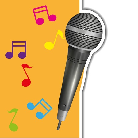 music background Stock Vector - 15056663