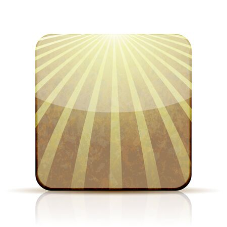 abstract app icon on white background. Vector