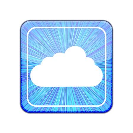 Vector version. Cloud icon. Stock Vector - 15436489
