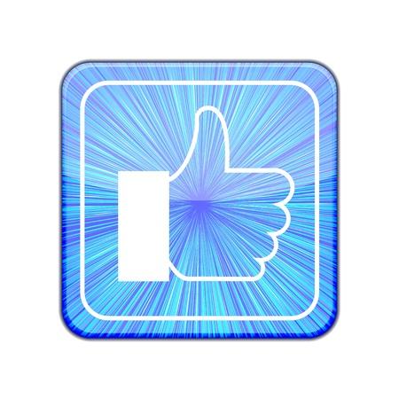 Vector version. Like icon. Stock Vector - 15436629