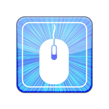 Vector version. computer mouse icon.  Stock Vector - 15436690