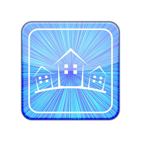 Vector version. Real estate icon.  Stock Vector - 15436651