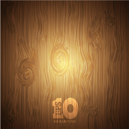 Vector wooden background   Stock Vector - 15436388