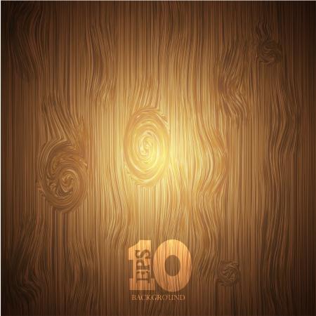 Vector wooden background Stock Vector - 15436388