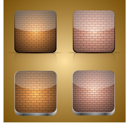 app brick icon Vector