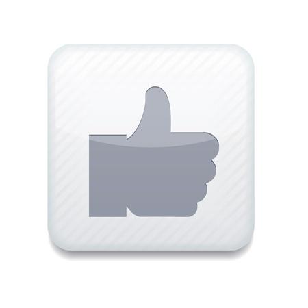 white like icon. Stock Vector - 15951635