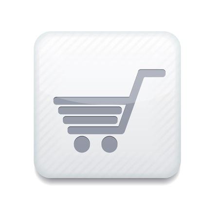 white Shopping icon.