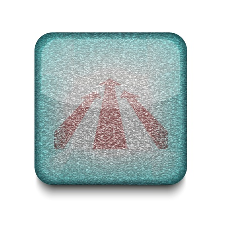 Vector arrow icon.   Vector