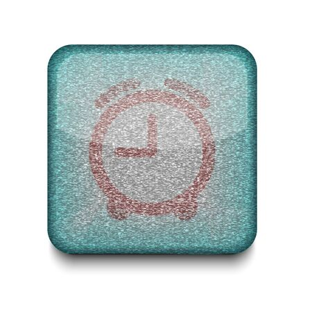 Vector clock icon.  Vector