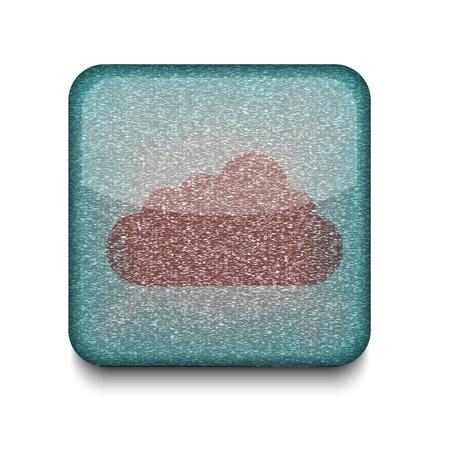 Vector cloud icon.  Stock Vector - 16197318