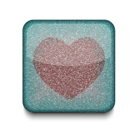 Vector heart icon.  Stock Vector - 16198076