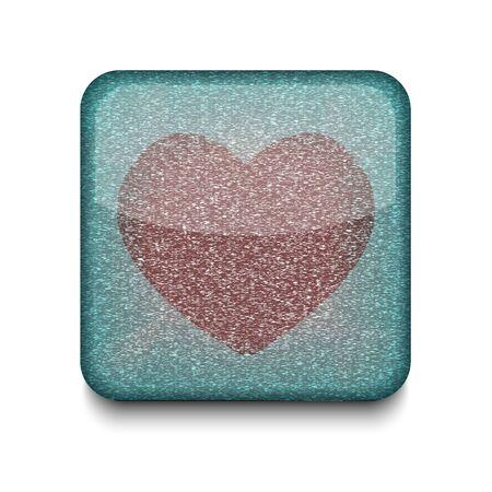 Vector heart icon. Stock Vector - 16198076