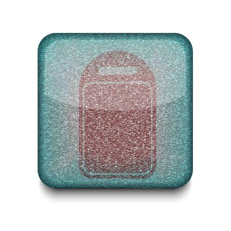 Vector kitchen board icon.  Vector