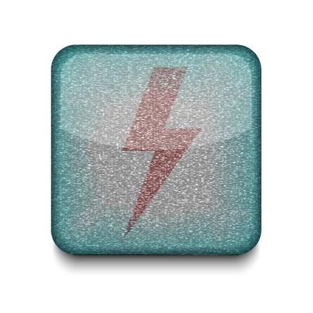 Vector  lightning icon. Stock Vector - 16198098