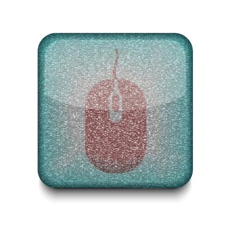 Vector version. computer mouse icon. Stock Vector - 16198269