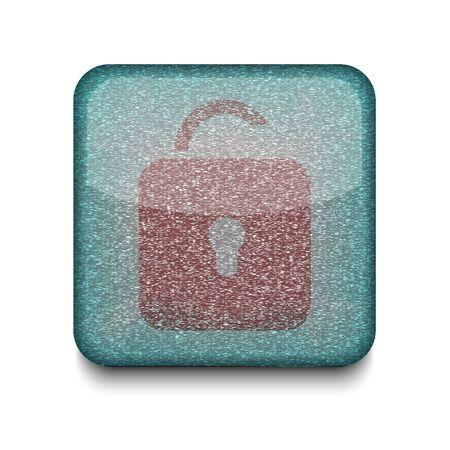 Vector unlock icon. Stock Vector - 16198362
