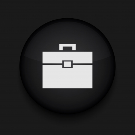 Vector Briefcase icon. Eps10. Easy to edit Stock Vector - 16773107