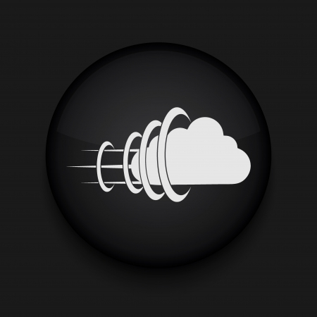 Vector cloud icon. Eps10. Easy to edit Stock Vector - 16773125
