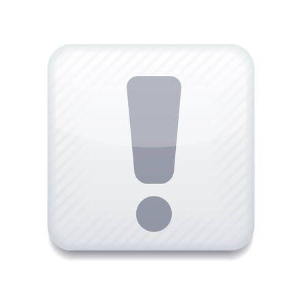 Vector creative white app icon on white background. Eps10 Stock Vector - 16773310