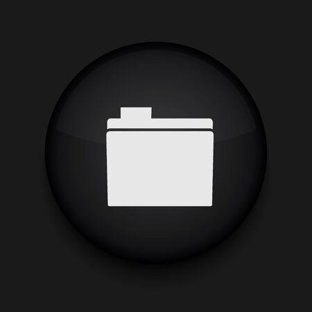 Vector folder icon. Eps10. Easy to edit Stock Vector - 16773119