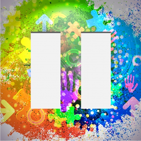 Vector icon. Colorful abstract background. Eps10 Stock Vector - 16773248