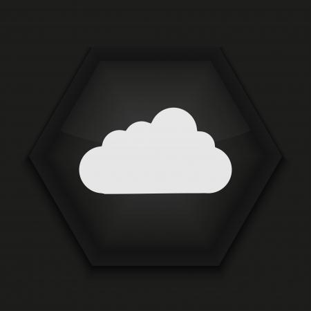 Vector creative icon on black background. Eps10 Stock Vector - 17273402