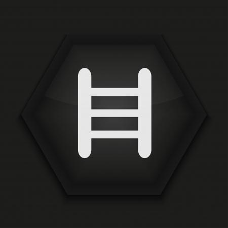 Vector creative icon on black background. Eps10 Stock Vector - 17273854